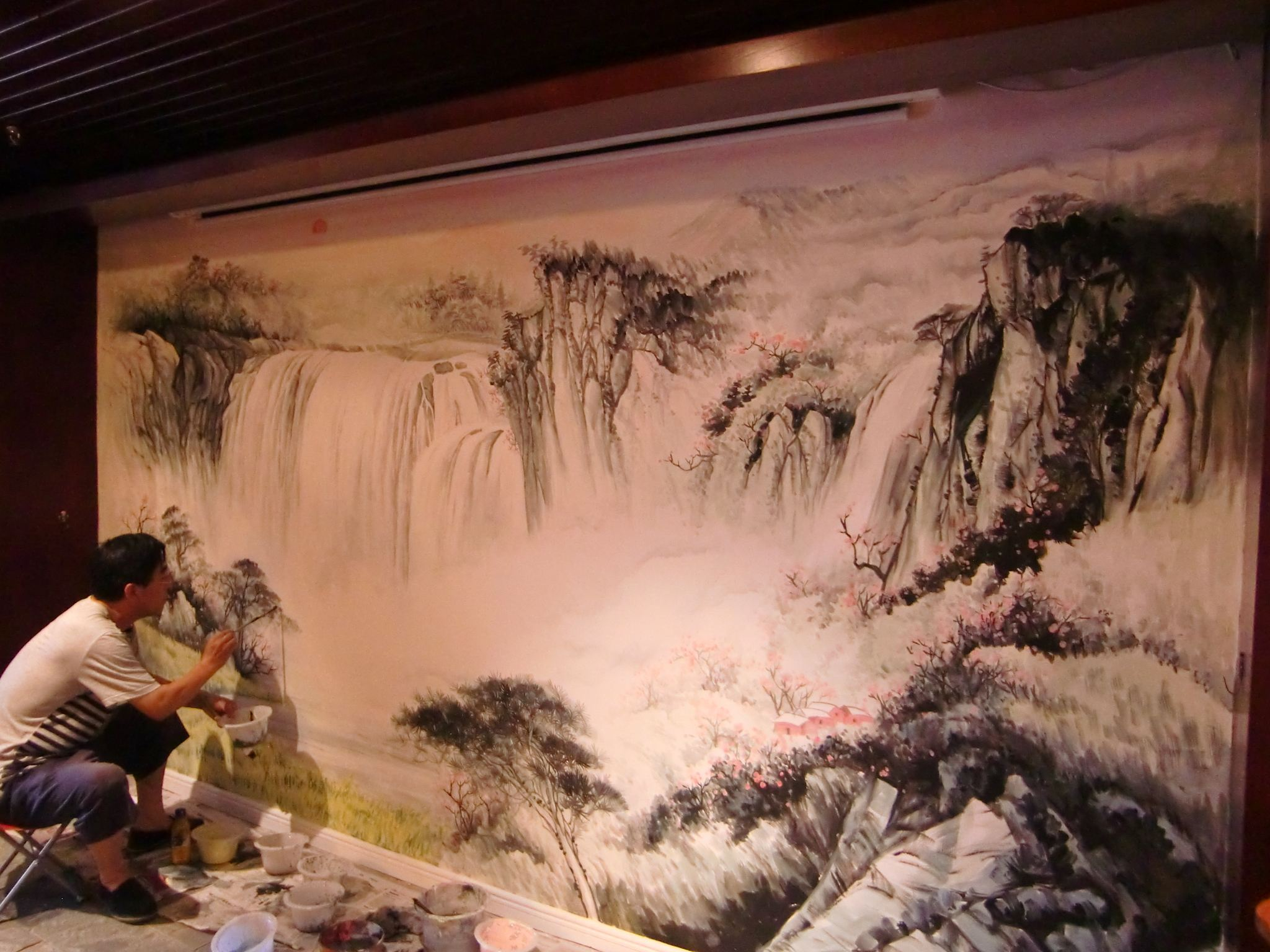 九江墙手绘,九江墙壁手绘,九江乡村文化墙彩绘,九江墙体彩绘涂鸦